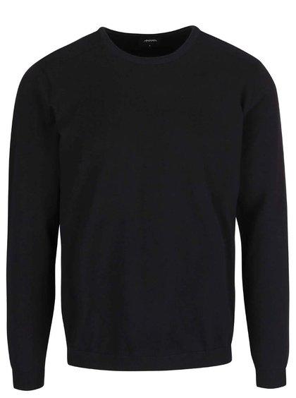 Bluză cu mânecă lungă Burton Menswear London neagră
