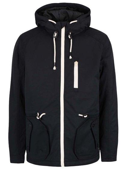 Jachetă neagră Blend cu glugă