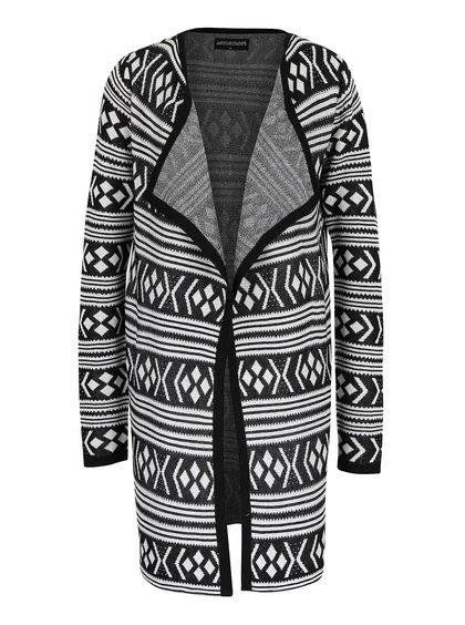 Černo-bílý cardigan se vzorem Haily´s Tina