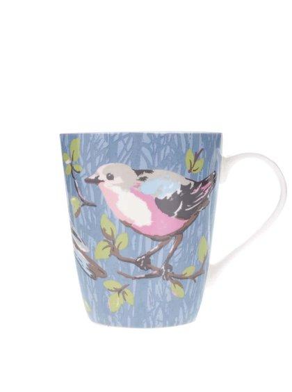 Modrý hrnek s ptáčky Cath Kidston