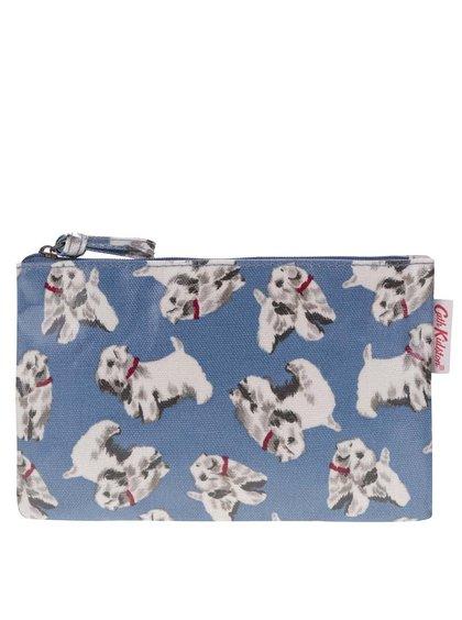Modrá taštička so psíkmi Cath Kidston