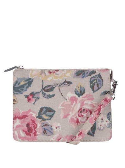 Sivá malá kvetovaná kabelka Cath Kidston