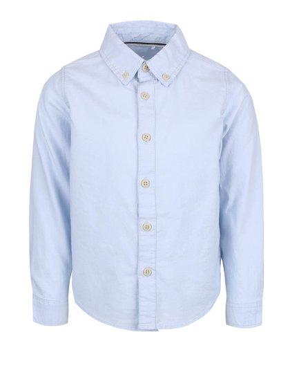 Světle modrá klučičí košile name it Oxford