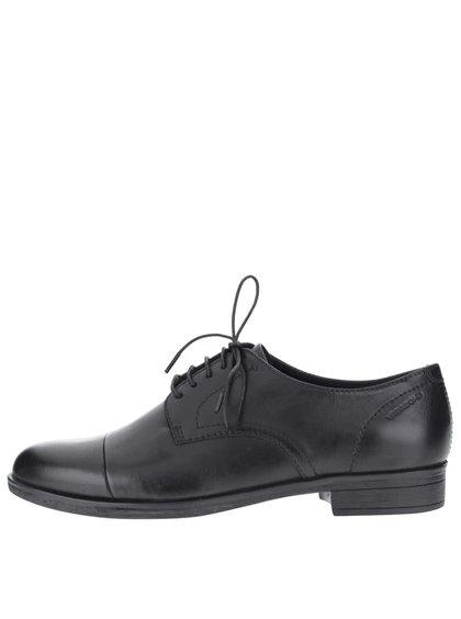 Pantofi negri din piele Vagabond Code