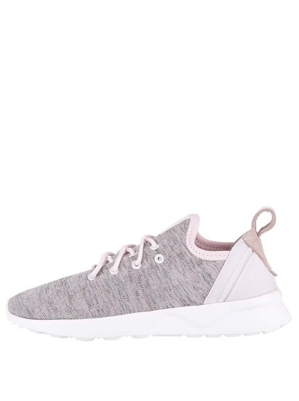 Pantofi sport roz Adidas Originals ZX Flux de damă