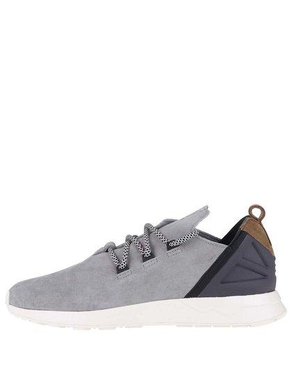 Pantofi sport gri Adidas Originals ZX Flux Adv X
