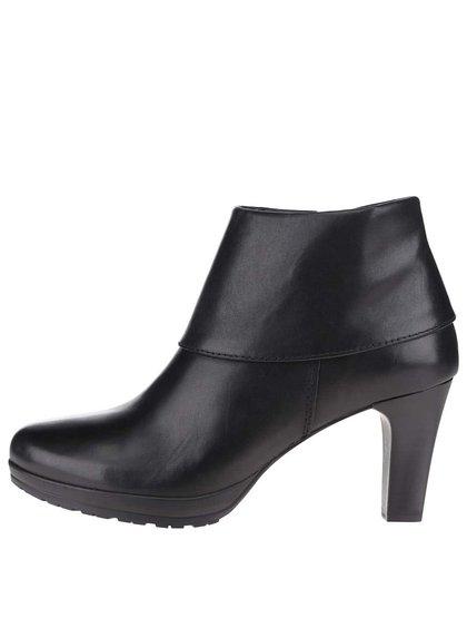 Cizme negre Tamaris cu toc