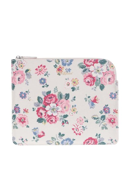 Krémový květinový obal na tablet Cath Kidston