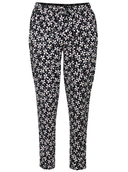 Pantaloni negri cu imprimeu Dorothy Perkins