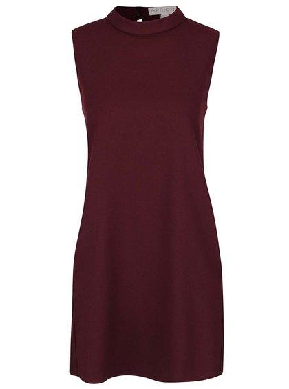 Vínové šaty s kapsami Apricot