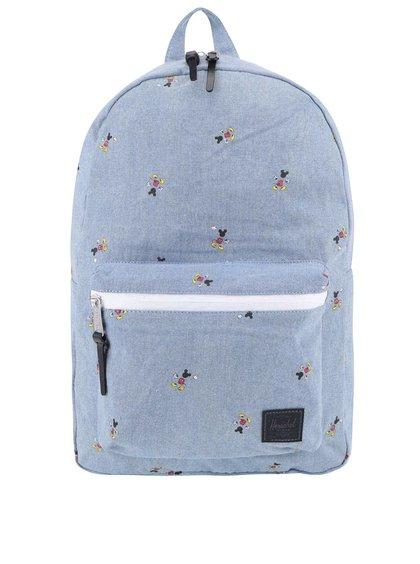 Modrý dámsky batoh s potlačou Mickey Mouse Herscel Settlement