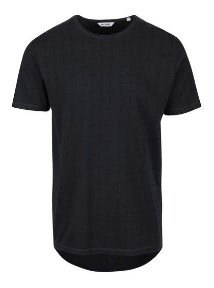 Černé vzorované triko ONLY & SONS Komma