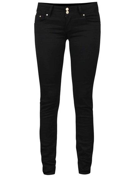 Černé džíny s nízkým pasem Haily´s Kitty