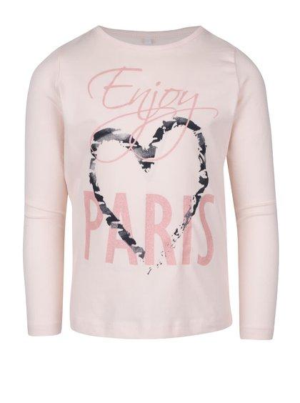 Bluză roz name it Vix cu mâneci lungi pentru fete