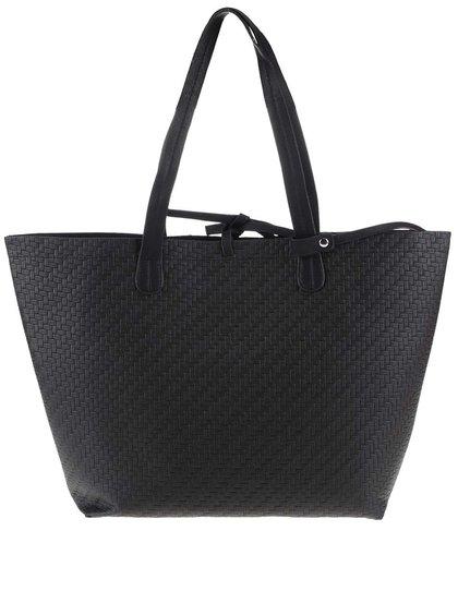 Geantă shopper Vero Moda Tulle neagră