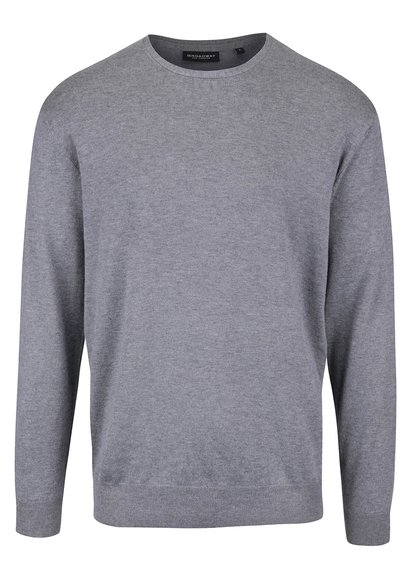Sivý pánsky ľahký sveter Broadway Oyster