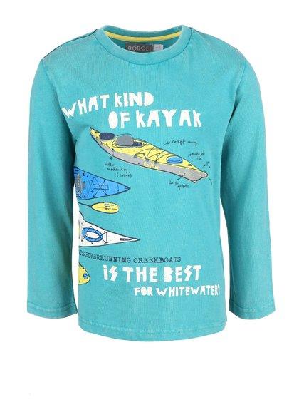 Bluză turcoaz Boboli pentru băieți