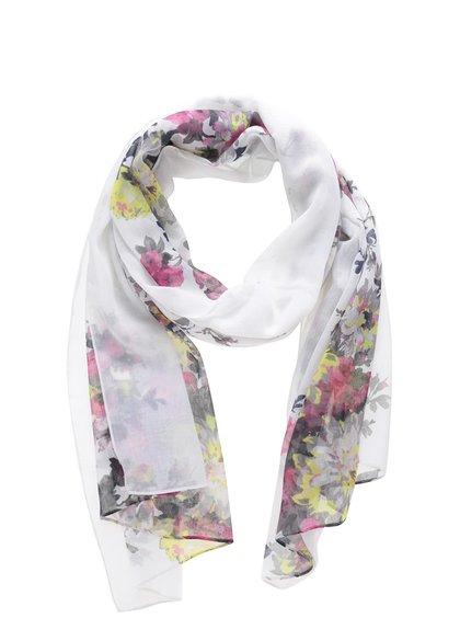 Krémový šátek s květinovým vzorem Tom Joule Wensley