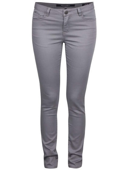 Pantaloni skinny gri deschis Broadway Jane