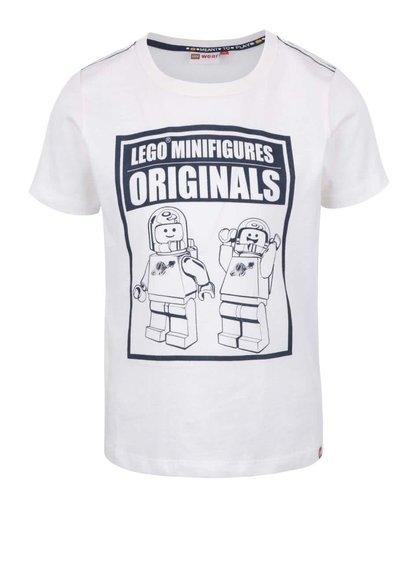 Krémové chlapčenské tričko s potlačou LEGO Wear Tony