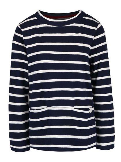 Bluză din bumbac Tom Joule Norfolk cu imprimeu cu dungi