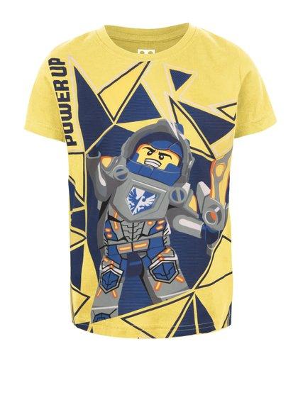 Žlté chlapčenské tričko s potlačou LEGO Wear M-Line