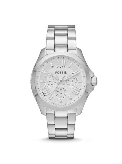 Dámské hodinky ve stříbrné barvě Fossil