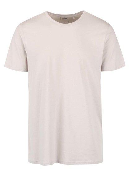 Béžové triko s kulatým výstřihem Burton Menswear London