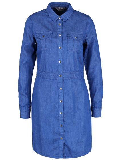 Rochie albastră Dorothy Perkins din denim