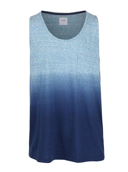 Modré žíhané tílko Burton Menswear London