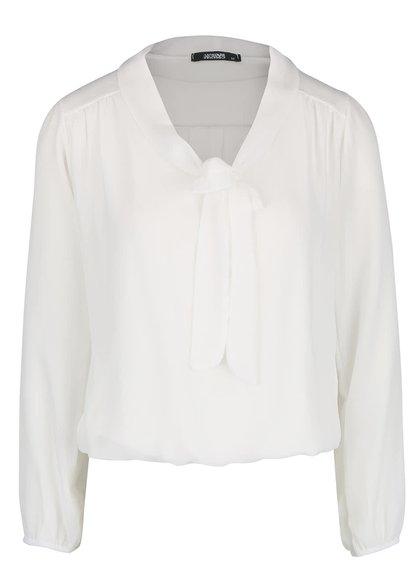 Bluză alb fildeș Haily´s Kia cu panglici