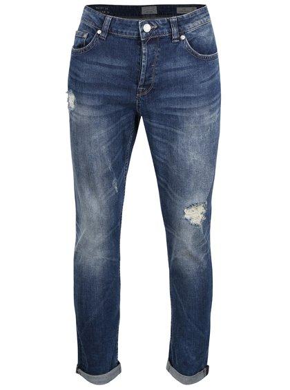 Světle modré džíny s roztrhaným efektem ONLY & SONS Loom