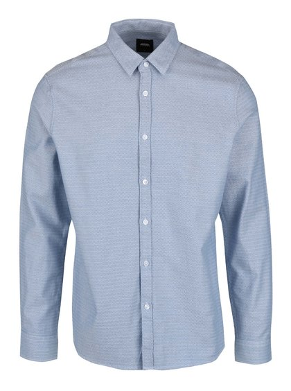 Cămașă albastră Burton Menswear London din bumbac