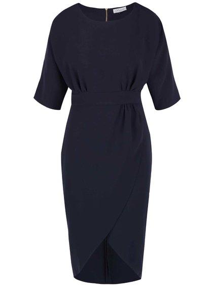 Rochie bleumarin Closet cu fustă lalea