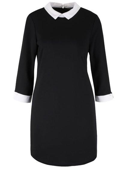 Rochie neagră VILA Tinny cu aspect 2în1