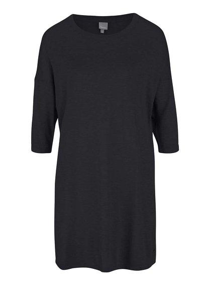 Bluză supradimensionată neagră Bench pentru femei