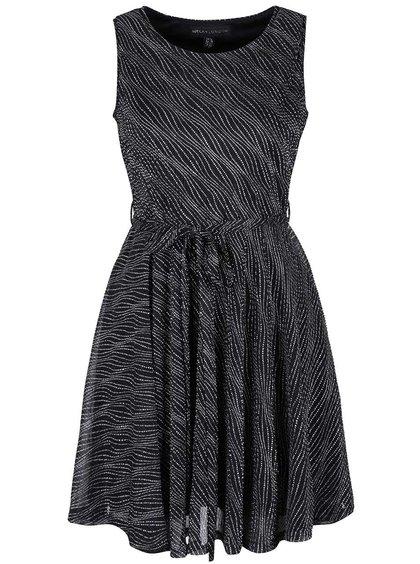 Rochie neagră Mela London cu model