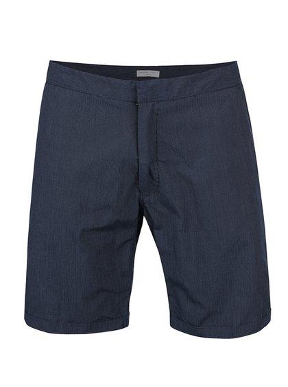 Pantaloni scurți bleumarin Selected Homme Pete din bumbac