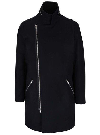 Tmavomodrý kabát na zips Lindbergh