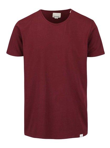 Tricou roșu burgundy Shine original