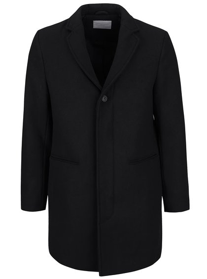 Čierny kabát Selected Homme Casper