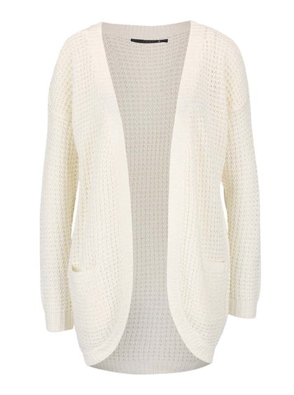 Cardigan lung crem ONLY EMMA tricotat