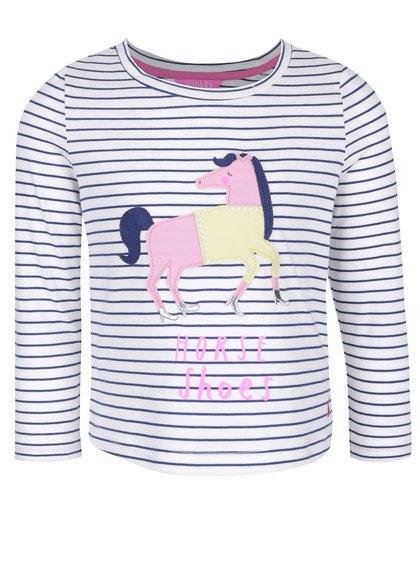 Bluză din bumbac Tom Joule Ava cu imprimeu