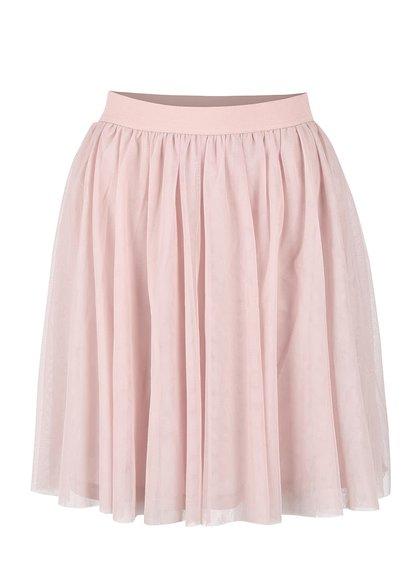 Staroružová tylová sukňa VILA Rokas