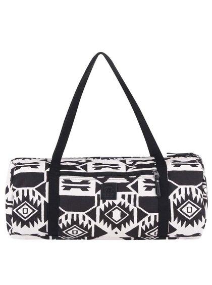 Krémovo-čierna dámska vzorovaná taška Vans Amelia