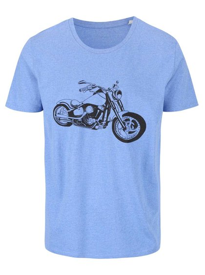 Tricou albastru ZOOT Originál Motorcycle de bărbați