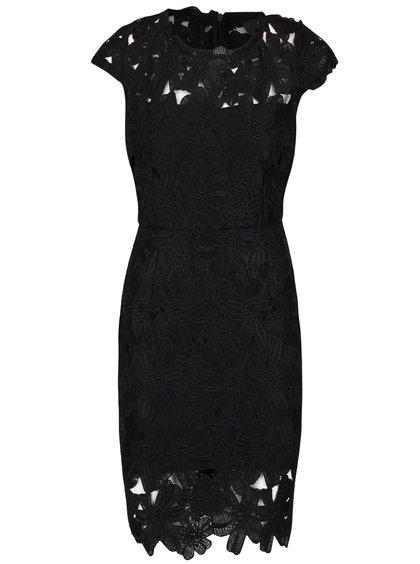 Čierne čipkované šaty AX Paris