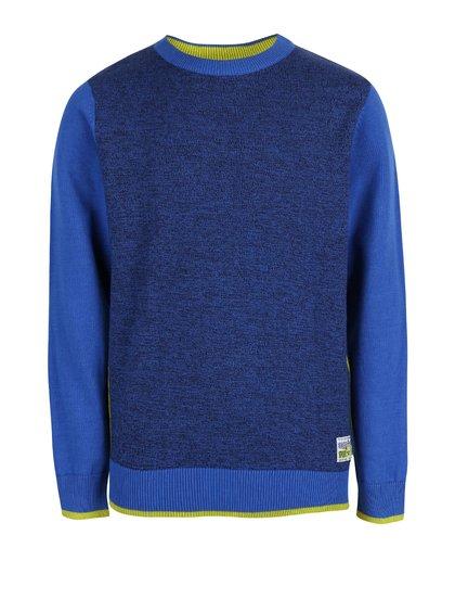 Bluză din bumbac Blue Seven albastră