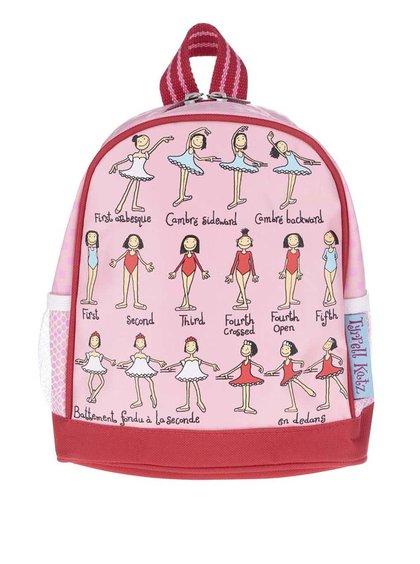 Růžový holčičí menší batoh Tyrrell Katz Ballet