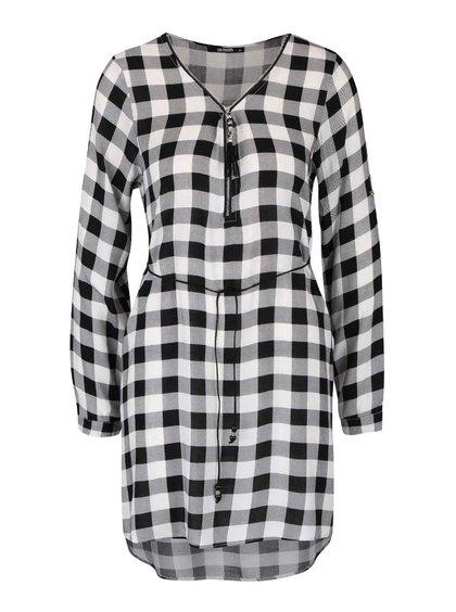 Černo-bílé kostkované šaty Haily´s Cathrine